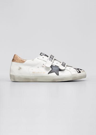 Old School Grip-Strap Skater Sneakers