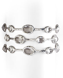 Ippolita Rock Candy Bangle in Clear Quartz