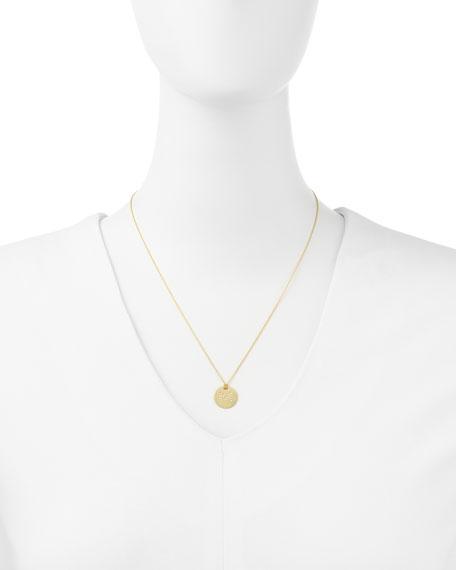 Letter Medallion Necklace