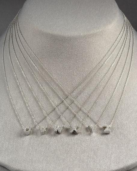 Diamond Love Letter Necklace, A