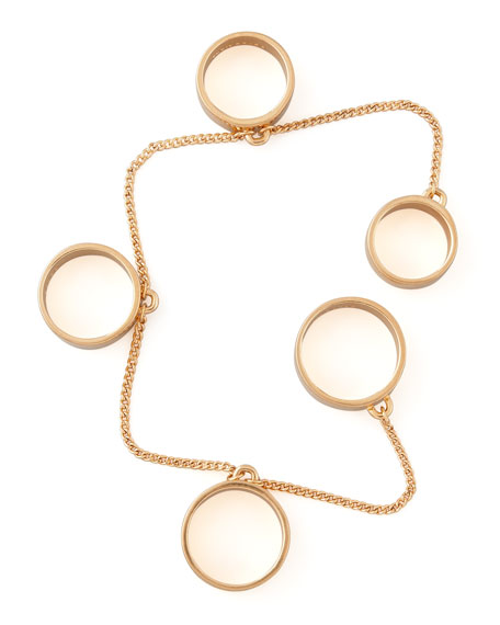 Five-Finger Ring, Rose Golden