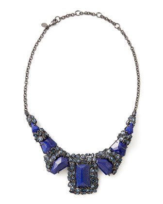Nova Large Custom Lapis Necklace