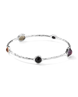 Ippolita Sterling Silver Wonderland Five-Stone Bangle