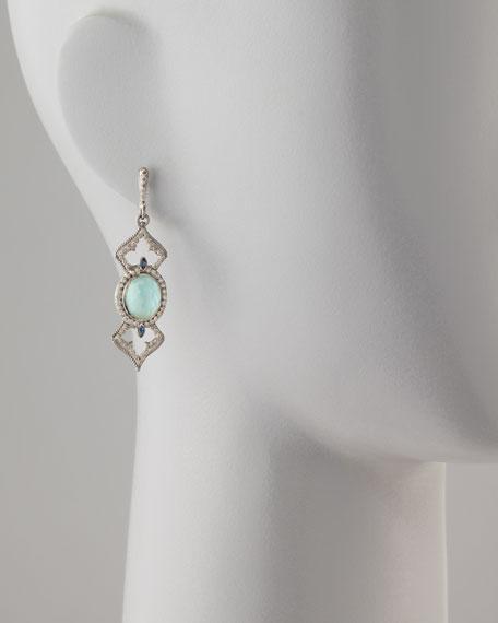 New World Elongated Diamond & _ Earrings