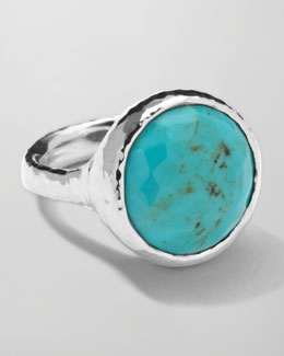 Ippolita Sterling Silver Rock Candy Lollipop Ring in Turquoise