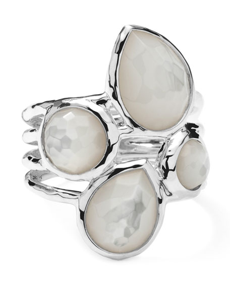Ippolita Sterling Silver Rock Candy 4-Stone Ring in