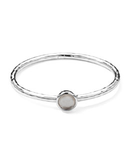 Ippolita Sterling Silver Wonderland Hinge Bangle in Mother-of-Pearl