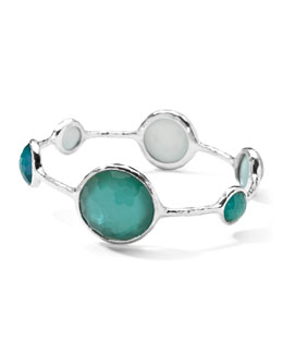 Ippolita Sterling Silver Wonderland Lollipop Bangle in Denim