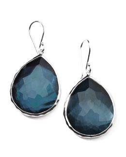 Ippolita Sterling Silver Wonderland Teardrop Earrings in Indigo