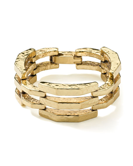 18K Gold Glamazon Flat Arch Bracelet