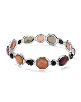 Ippolita Sterling Silver Wonderland Mini Hero Bangle in Pizzelle