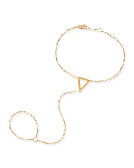 Kassandra Triangle Hand Chain