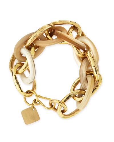 Ndovu Light Horn & Bronze Bracelet