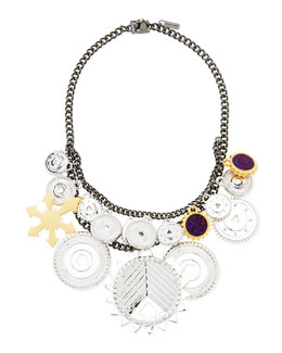 Eddie Borgo Tricolor Challenge Necklace