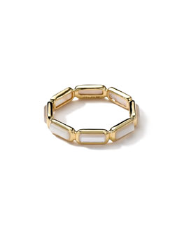Ippolita 18k Gold Rock Candy Gelato Mini-Stone Ring, Mother-of-Pearl