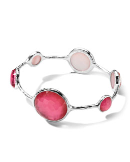 Ippolita Sterling Silver Wonderland Lollipop Bangle in Peony