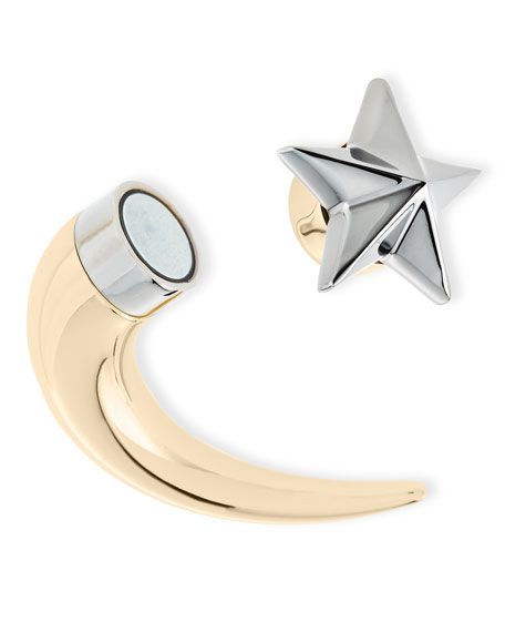 Single Small Star Shark-Tooth Earring
