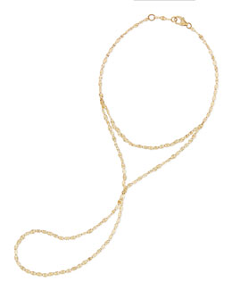 Lana 14-Karat Yellow Gold Mystique Hand Chain