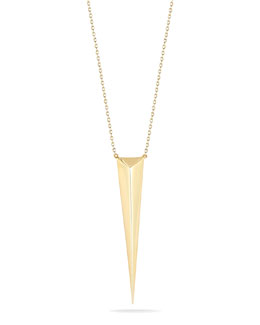 Elizabeth and James Boyd Spike Pendant Necklace