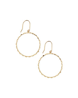 Lana Small 14k Blake Hoop Earrings