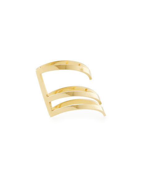 Triple-Stacked Odette Space Ring
