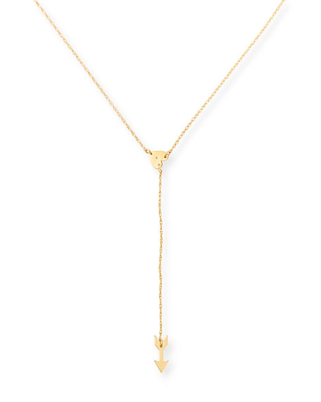Katia Heart & Arrow Necklace with Diamond