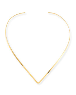 Tilda Gold Vermeil Collar Necklace