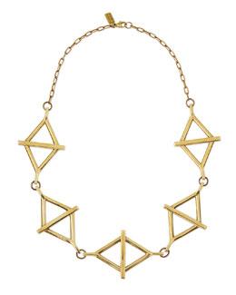 Pamela Love Golden Multi-Balance Necklace