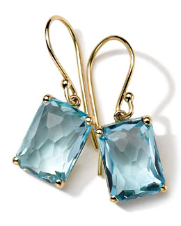 18k Gold Rock Candy Gelato Topaz Earrings