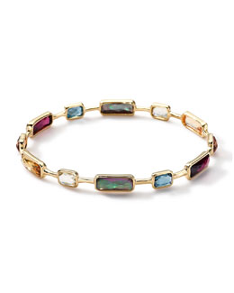 Ippolita 18k Gold Rock Candy Gelato Multi-Stone Bangle