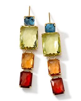 Ippolita 18k Gold Rock Candy Gelato Multi-Stone Drop Earrings