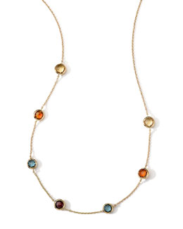 Ippolita 18k Gold Rock Candy Mini Gelato Necklace