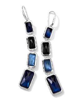 Ippolita Rectangle-Cut Quartz & Mother-of-Pearl/Pyrite 4-Drop Earrings