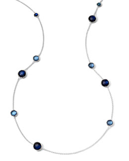 Ippolita Wonderland Quartz & Mother-of-Pearl/Pyrite Lollipop Necklace