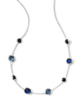 Ippolita Wonderland Quartz & Mother-of-Pearl/Pyrite Gelato Necklace