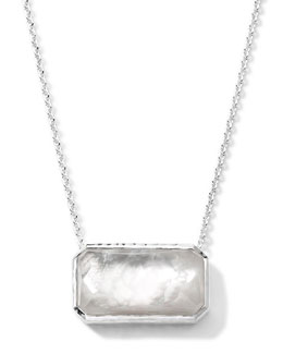 Ippolita Rectangle Quartz & Mother-of-Pearl Necklace