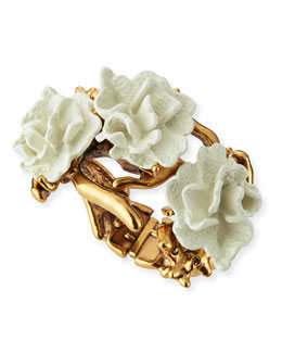 Ivory Coral Bracelet