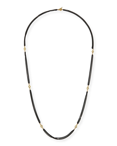 Armenta Old World Cable Chain Necklace with Diamonds