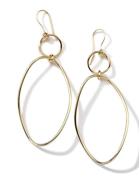 Ippolita 18K Gold Wavy Oval Earrings kn00Ypy