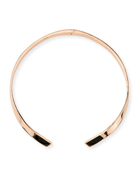 Irissa Onyx-Inlay Choker Necklace
