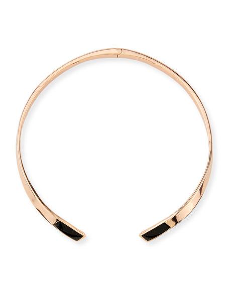 Irissa Onyx-Inlay Choker Necklace
