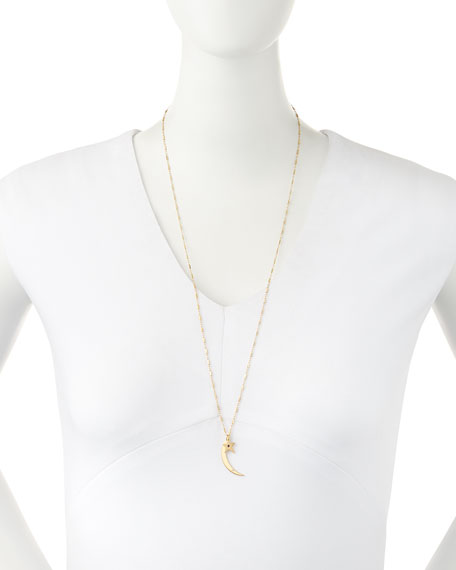 Everly Moon & Star 2-Pendant Necklace