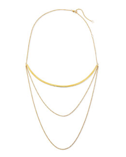 Kendall Multi-Chain Choker Necklace