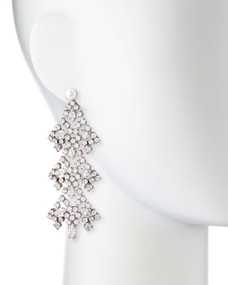 Penny Crystal Chandelier Earrings