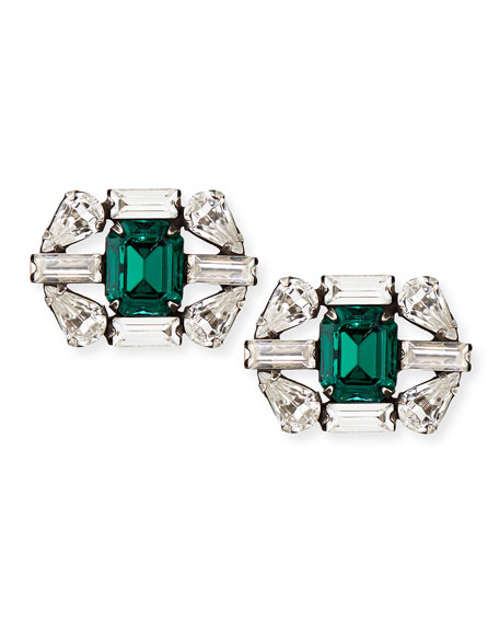 Evelyn Crystal Stud Earrings