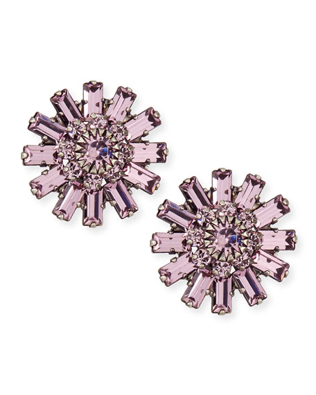 Charlotte Crystal Stud Earrings