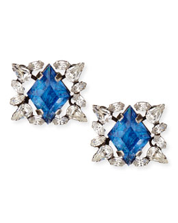 Bri Crystal Stud Earrings
