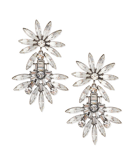 Katie Large Crystal Earrings