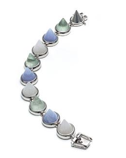Mixed-Stone Cone Bracelet