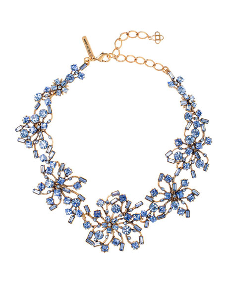 Crystal Firework Collar Necklace